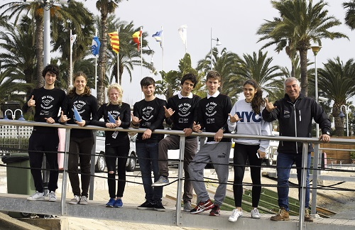 "LA  1ª REGATA  DE WINDSURF DEL CIRCUIT CATALÀ A ""SALOU"" 